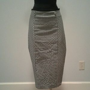 7th Avenue NY&C Pinup Gingham Skirt 12